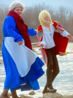 Howl and Sophie Cosplay Four by joshietakashima