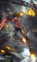 Iron Man by JUNLING