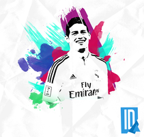 James Rodriguez - Wallpaper by IndividualDesign