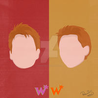 Weasley - Minimal Poster by raquelsegal