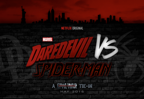 DAREDEVIL VS SPIDER-MAN (A CIVIL WAR TIE-IN) by WibblySpidey