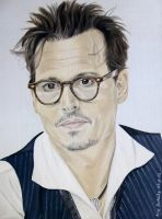 Johnny Depp - Santa Fe 2013 by shaman-art