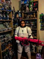 Stormtrooper Chick 1 by MsComicStar86