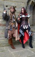 Captain Jack and Fem Assassin (7) by masimage