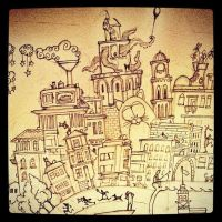 Raven Jr. Sketch Closeup.1 by Starshrouded