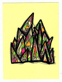 yellow spike by reavel