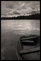 Boat BW by SiimonX