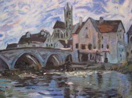 Sisley Reproduction by CaliburlessSoul