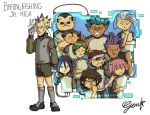 Inazuma Eleven: Brainwashing Jr. High by Card-Queen