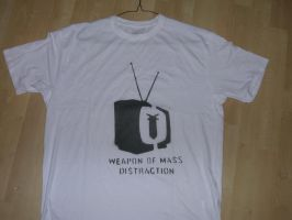weapon t shirt by CutWild