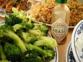 Tabasco Broccoli by eleefece