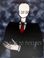 Slenderman Cometh...For 20$ by Onslaught14