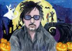Tim Burton by Le-ARi