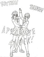 Applause Shock! by SailorV-babe