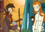 Deponia Fanart- Up there, down here by Lumary92