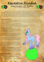 Carnival of Fools, House Sheet. by equiVentus