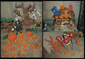 The Little Halloween Town by axelgnt