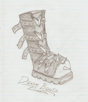 Doom Boots by ClashWithReality