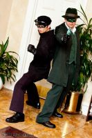 Kato and The Green Hornet 1 by Insane-Pencil