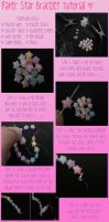 Paper Star Bracelet Tutorial by xXbBGurlx