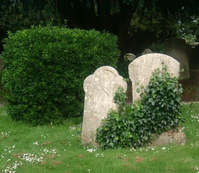 Two Gravestones by tia-stock