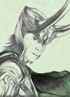 Loki The God Of Mischief by twilightavatar