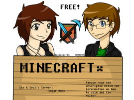 Free Minecraft Server to Join!! by Scoric