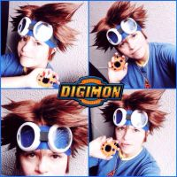 Taichi Kamiya-Digimon Adventure by Qwaseer
