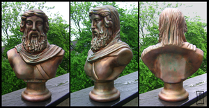 Platon Bust Bronzified by Siobhan68