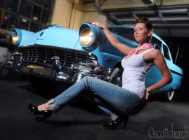 kelli and the fairlane by scottchurch