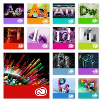Adobe Creative Cloud Icons (Mnemonics) by adijayanto