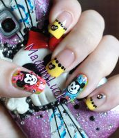 Disney Babies Nail Art by MadamLuck