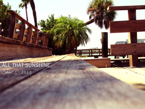 All that sunshine by idaSouth