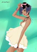 Mini dress colored by 1kagome4ever