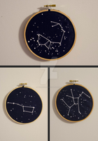 Constellation Embroidery by mollieevans