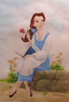 Belle from Beauty and the Beast by cbgorby