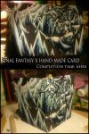 FFX Hand-made Card by Burnt-Angel-Wings