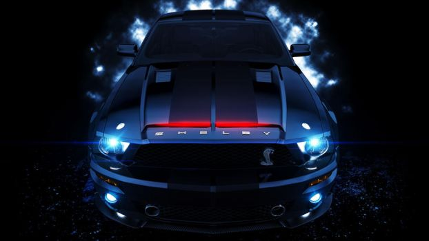 Knight Rider Shelby K.I.T.T by DistortedImagery