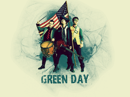 Green Day Wallpaper II by GnarlyNinja