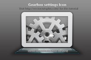Vectortuts Gearbox Icon by SolidSilver