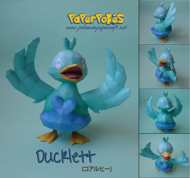 Ducklett Papercraft by Olber-Correa