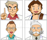 Pokemon Professors by pokesafari