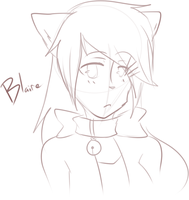 [KKT] Blaire Sketch by CoffehKittehFluff