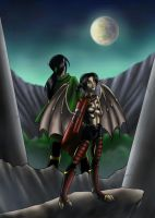 Cover - Raziel and Turel by Mirri