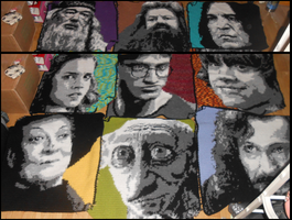 Harry Potter Blanket Lineup by Maintje