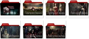 The Vampire Diaries Folder Icons by nellanel