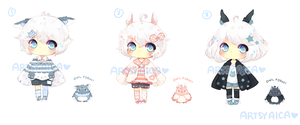 Points/Paypal Adoptable Auction 6: [CLOSED] by ArtsyAica
