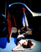 Pin up shoot 2 by Ryo-Says-Meow