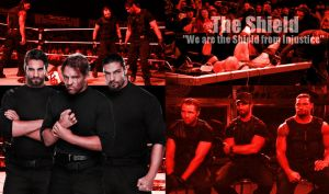 WWE The Shield Wallpaper by xFadexToxNeonx3