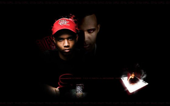 Phil Ivey wall by embusK2